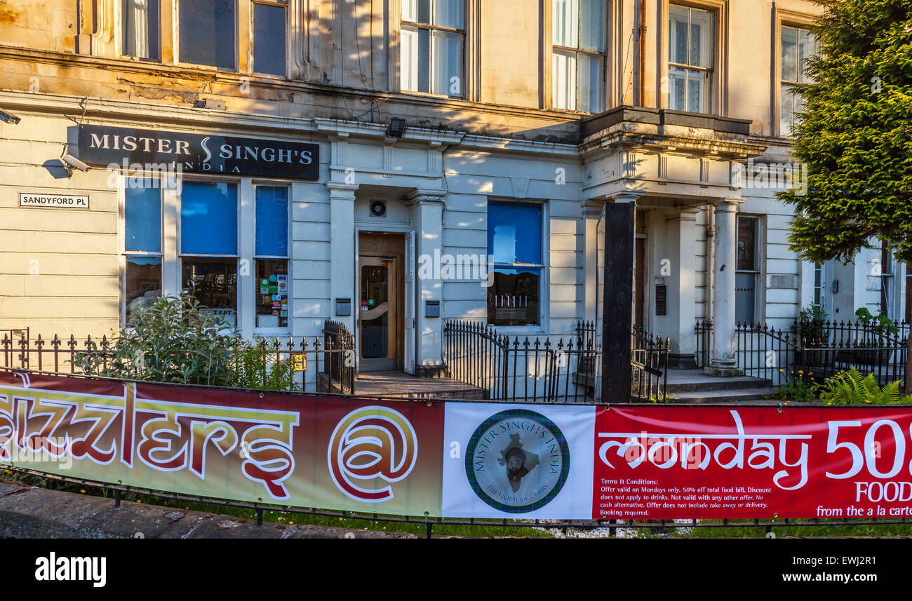 Scottish Indian Restaurant Stock Photos & Scottish Indian Restaurant ...
