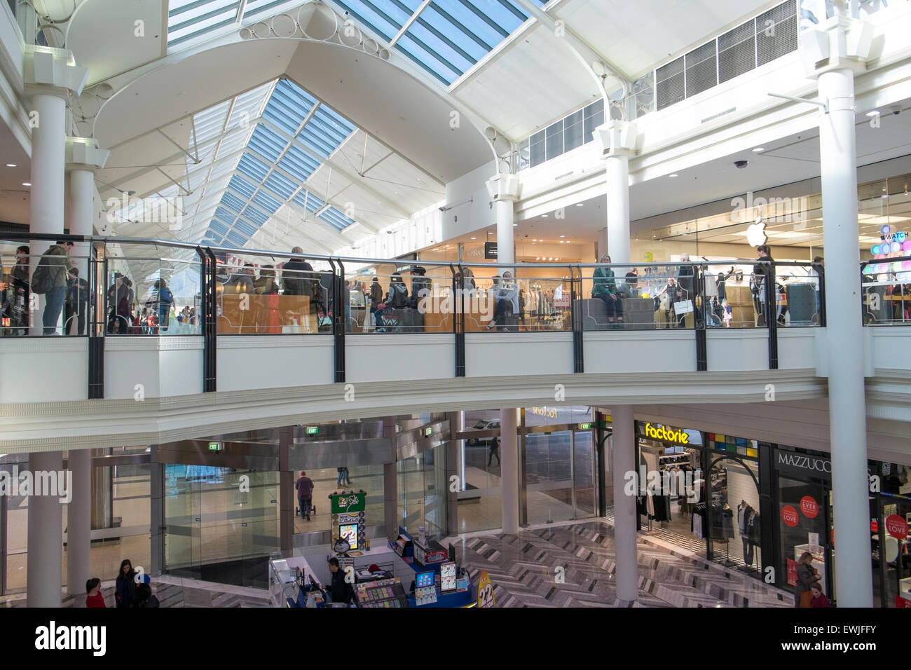 Canberra Centre, shopping mall centre in the australian capital city of Canberra,ACT,Australia - Stock Image