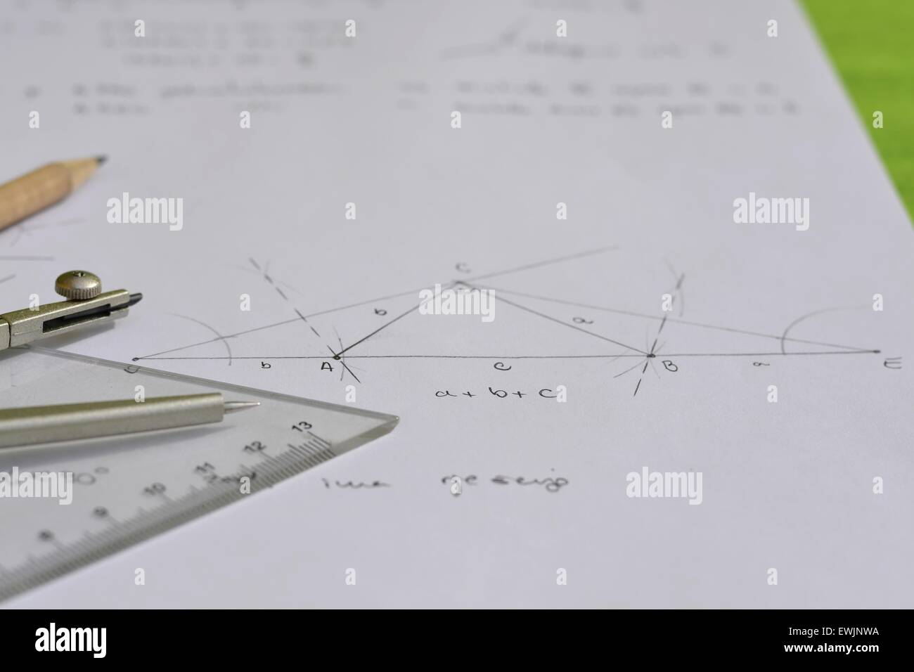 Geometry - Stock Image