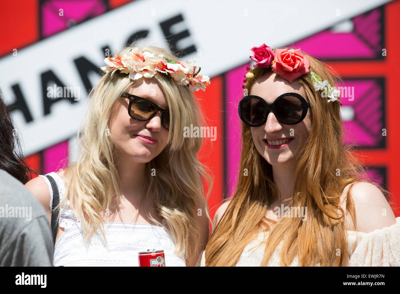 London,UK,27th June 2015,Pride in London Parad Credit: Keith Larby/Alamy Live News - Stock Image