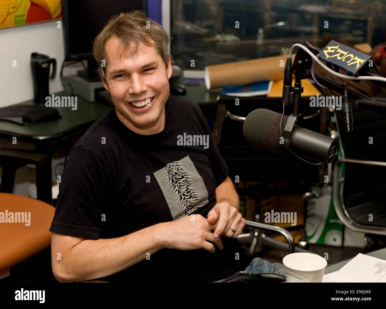 June 27, 2015 - Street artist SHEPARD FAIREY is wanted by police in Detroit after they say he tagged buildings across Stock Photo