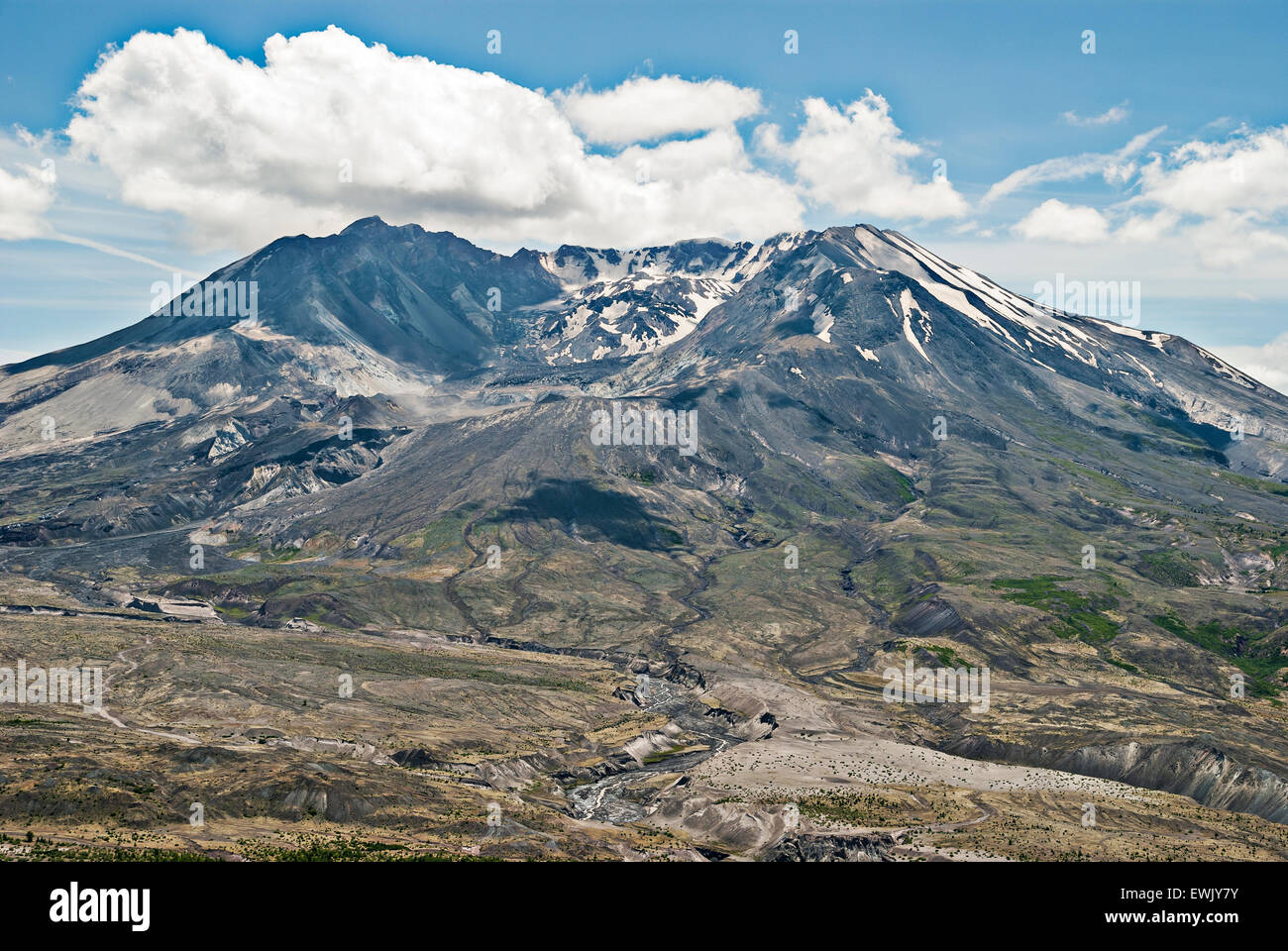 Trip to Toledo and Mt. St. Helens Area - Stock Image