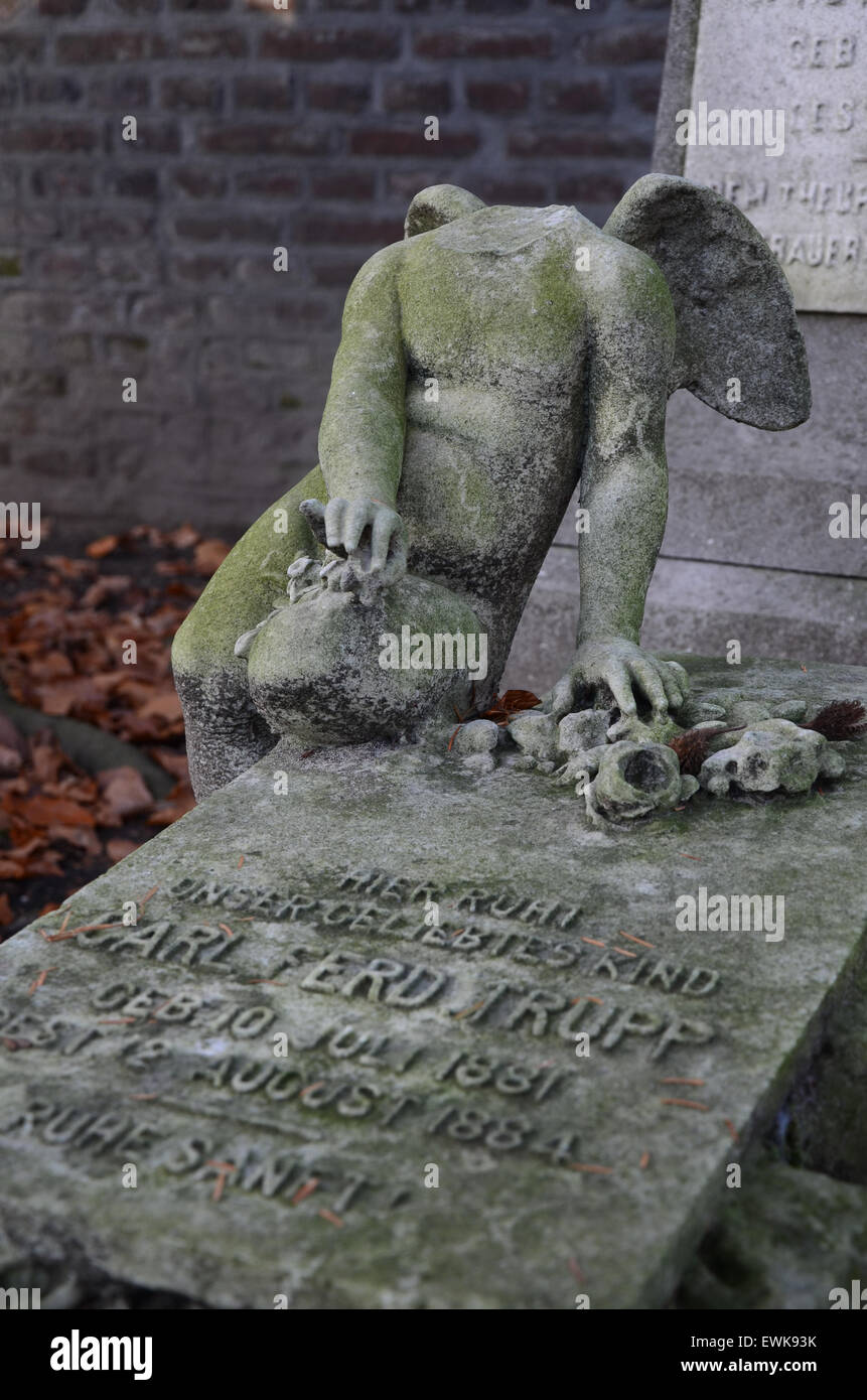 The old Church yard, Roermond Netherlands - Stock Image