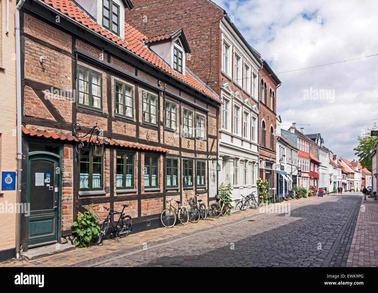 Nedergade in Odense Denmark Stock Photo: 84632648 - Alamy