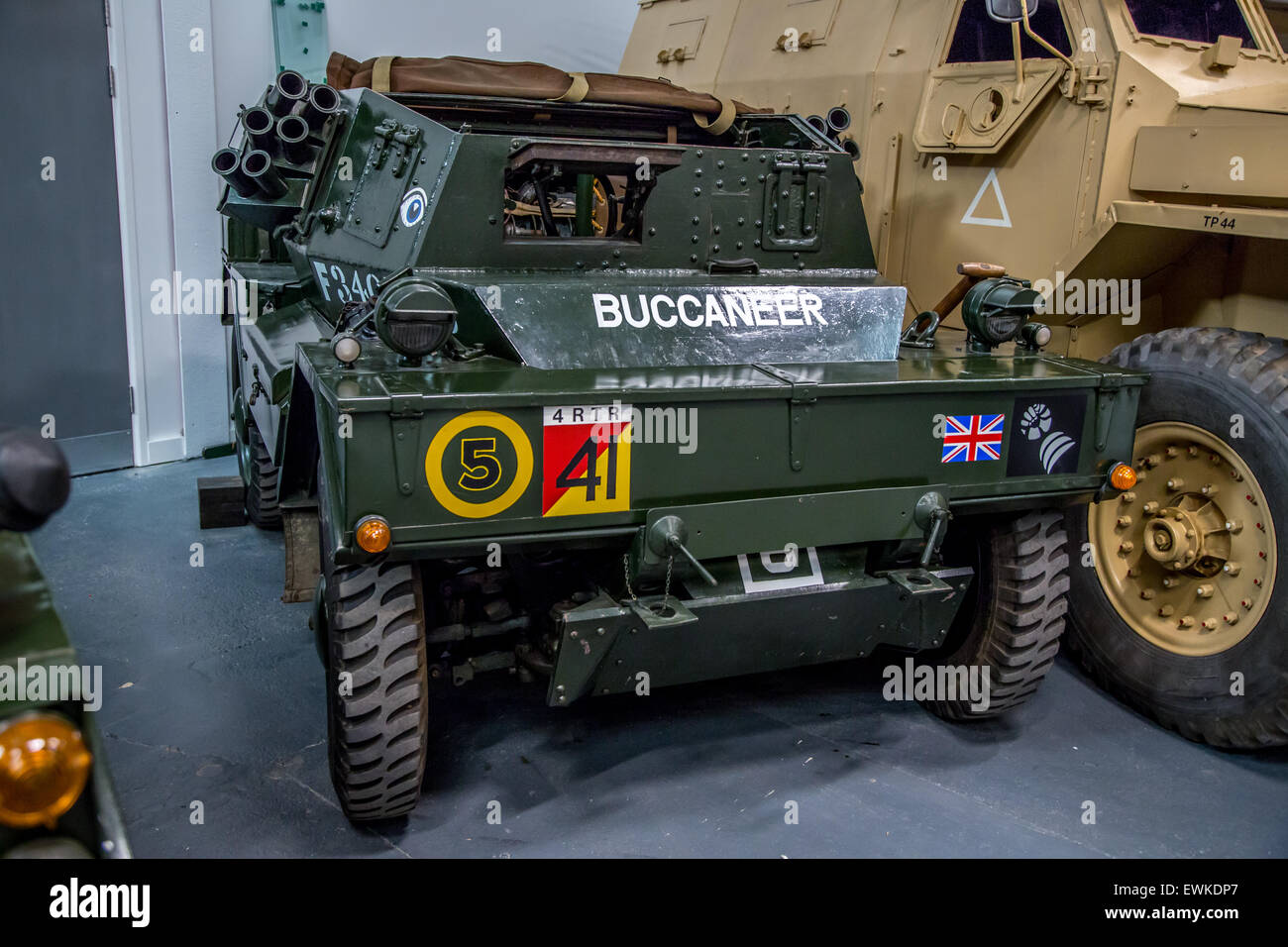 1968 Daimler Ferret Scout Car 1952 british army Stock Photo