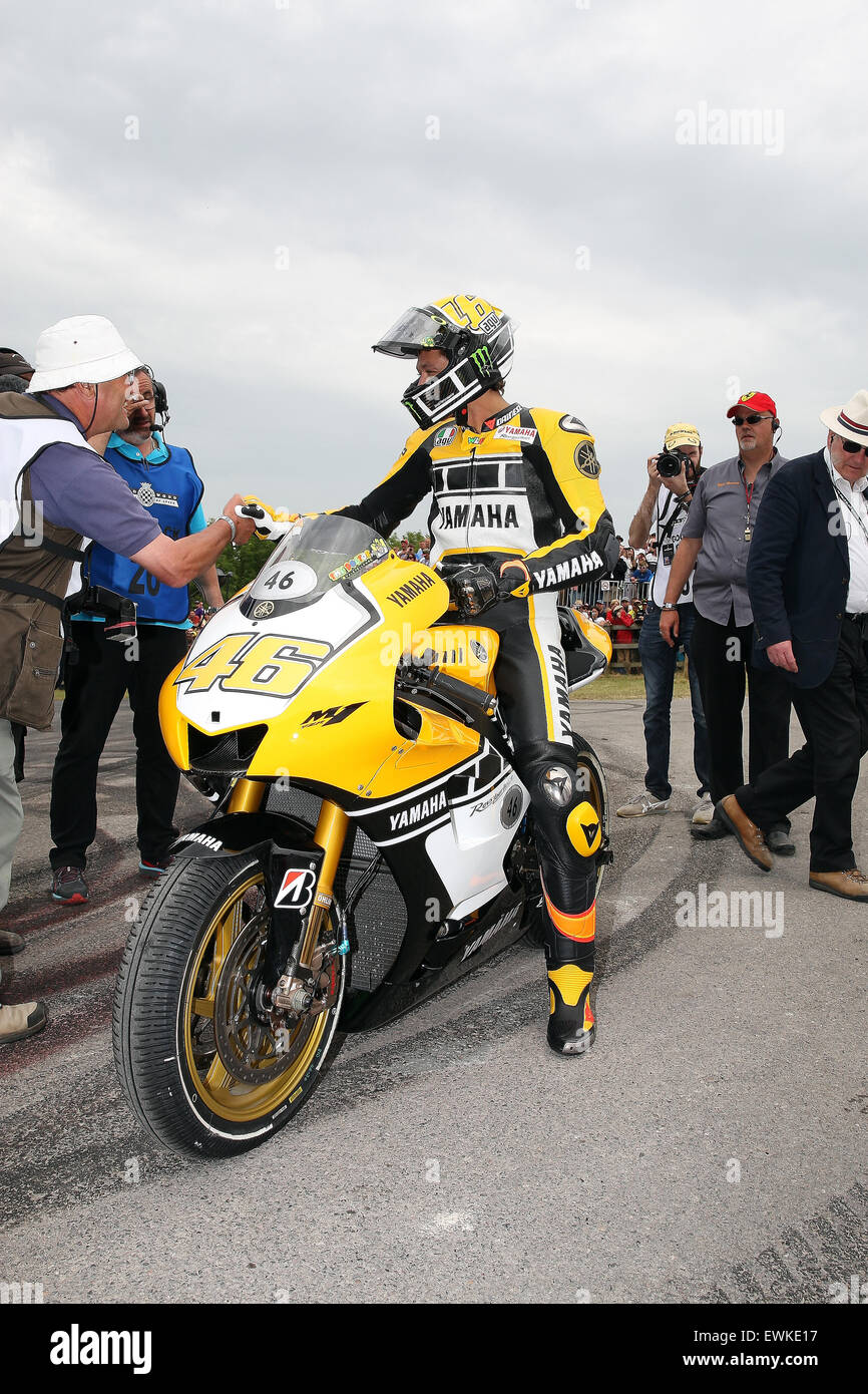 Goodwood Festival Of Speed 2015   Stock Image