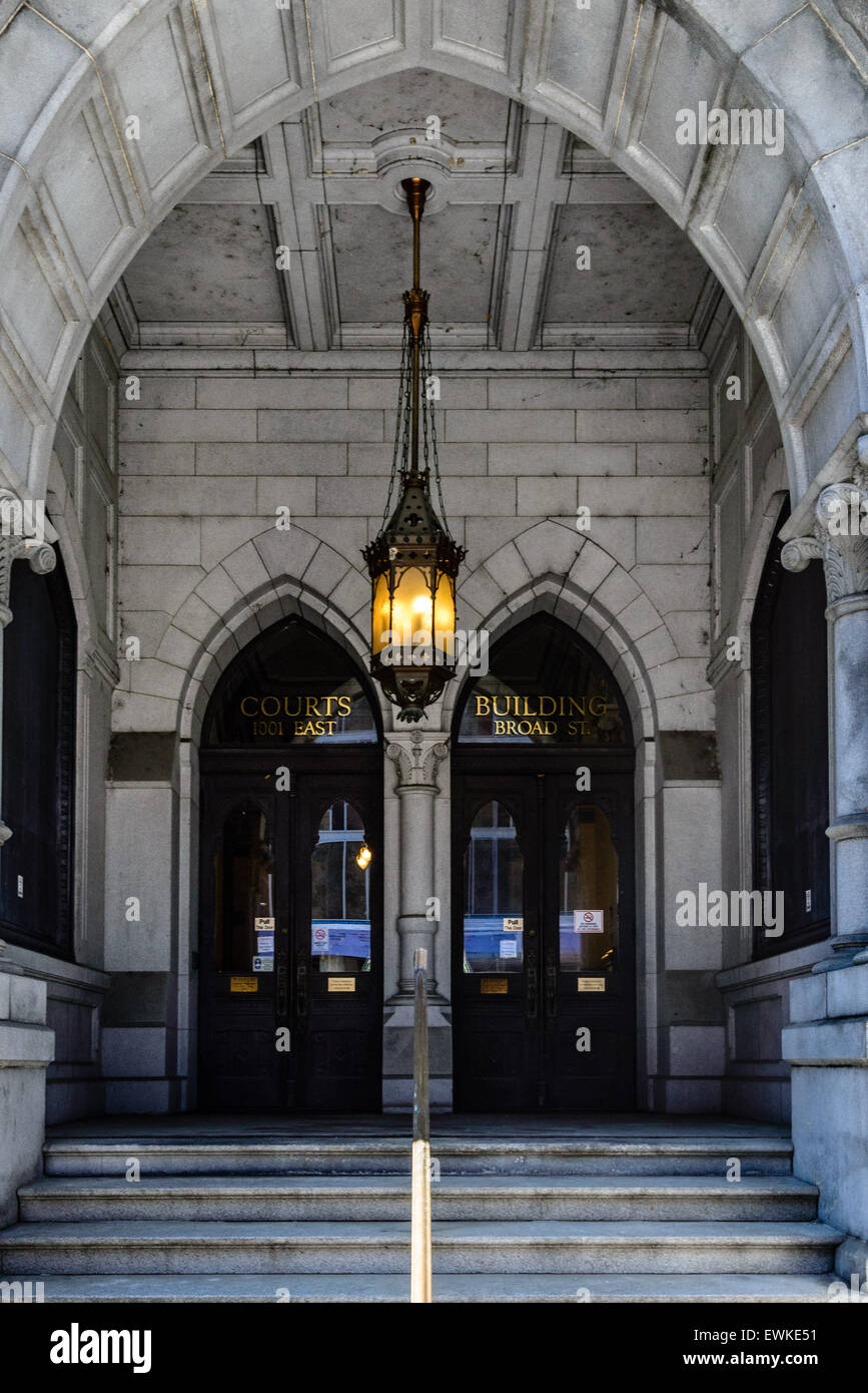 Courts Building, Old City Hall, 1001 East Broad Street