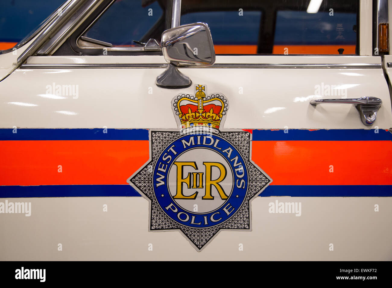 https www alamy com stock photo vintage police car transport museum coventry uk 84636918 html