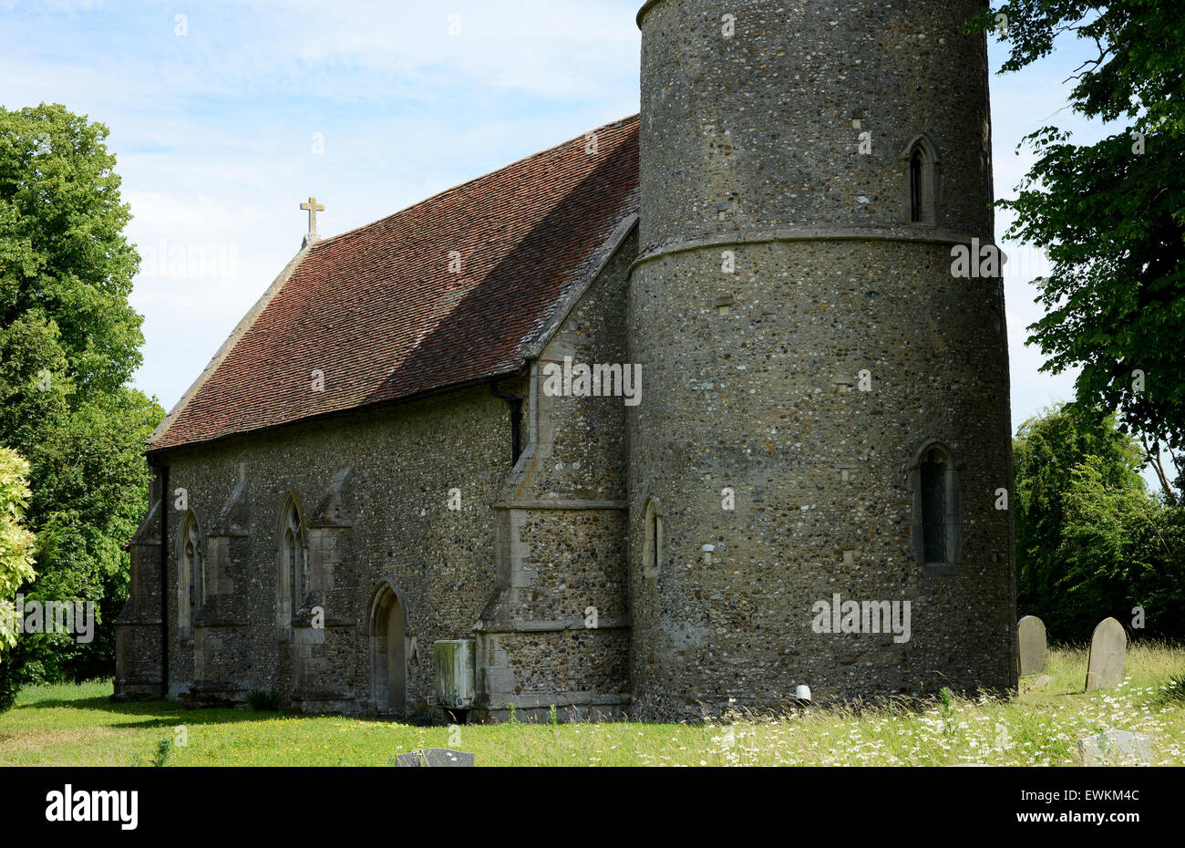 Church of St Peter & St Paul, Bardfield Saling - Stock Image