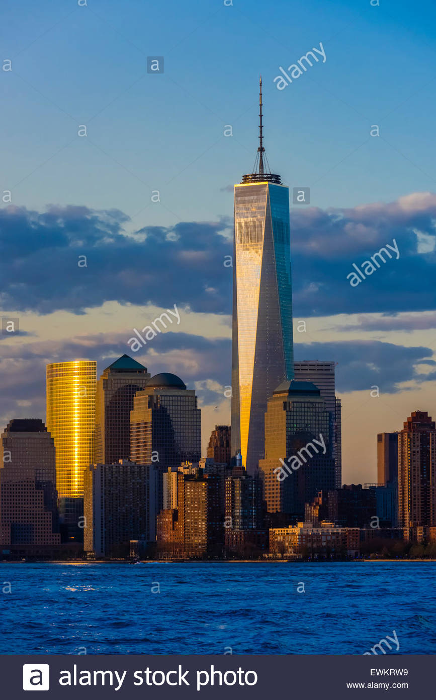 One World Trade Center, New York, New York USA. - Stock Image