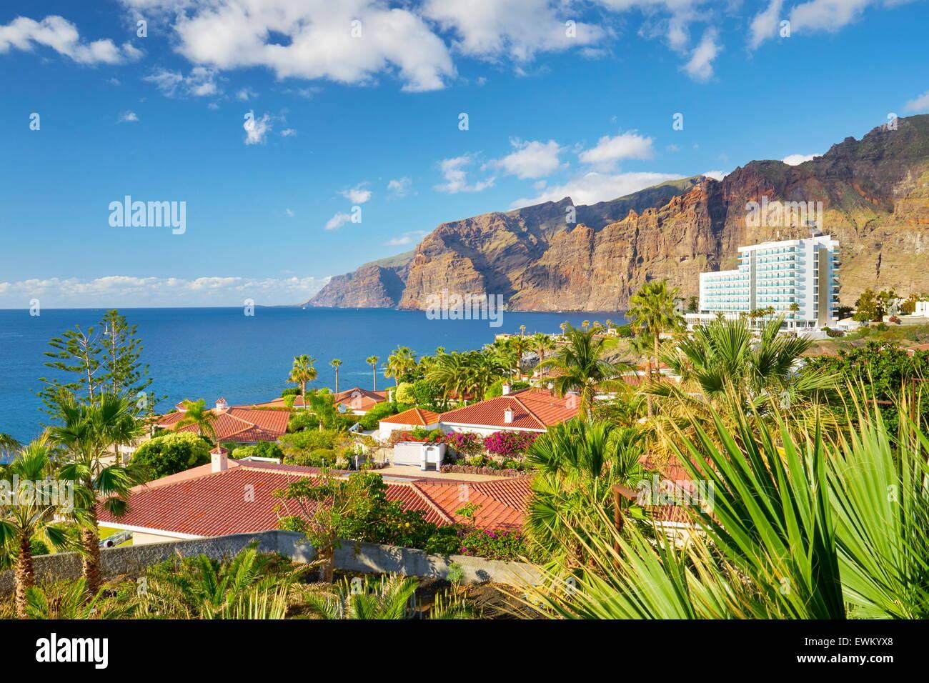 Tenerife, Los Gigantes, Canary Islands, Spain - Stock Image