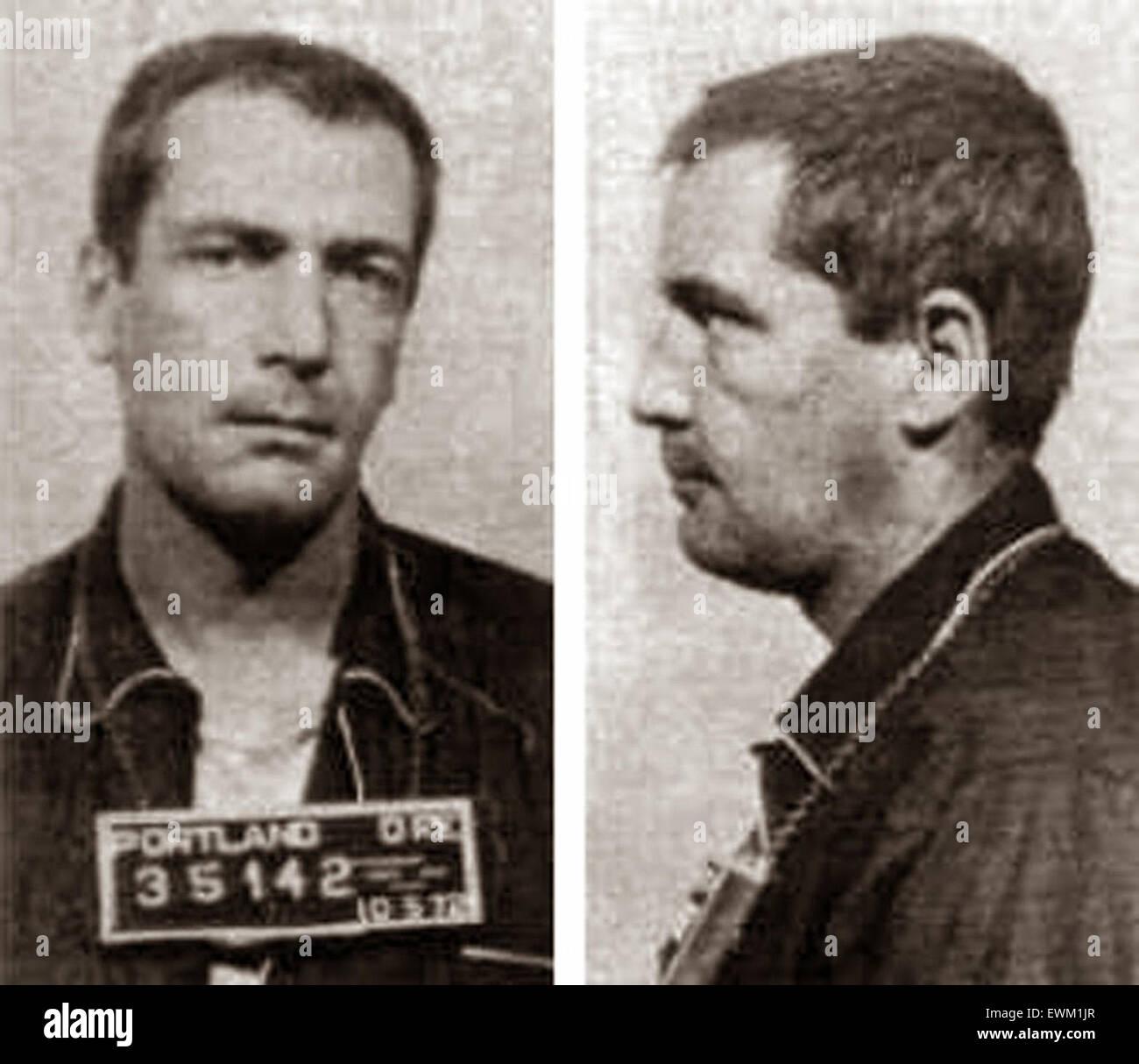 Gary Gilmore, American criminal, murderer - Stock Image
