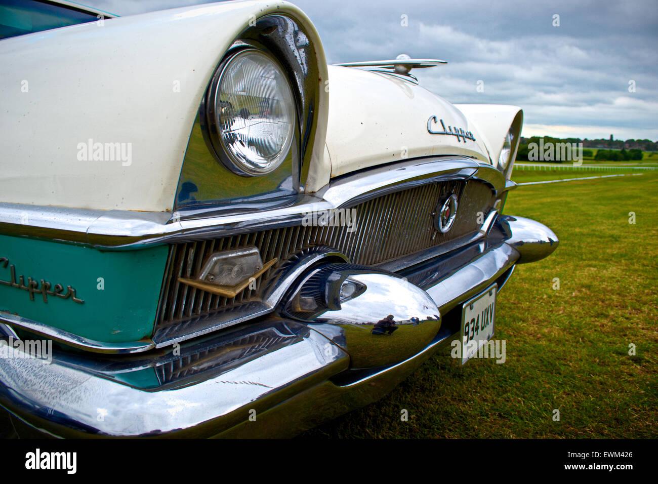 Chevrolet Clipper Black White American Muscle Car Classic Car