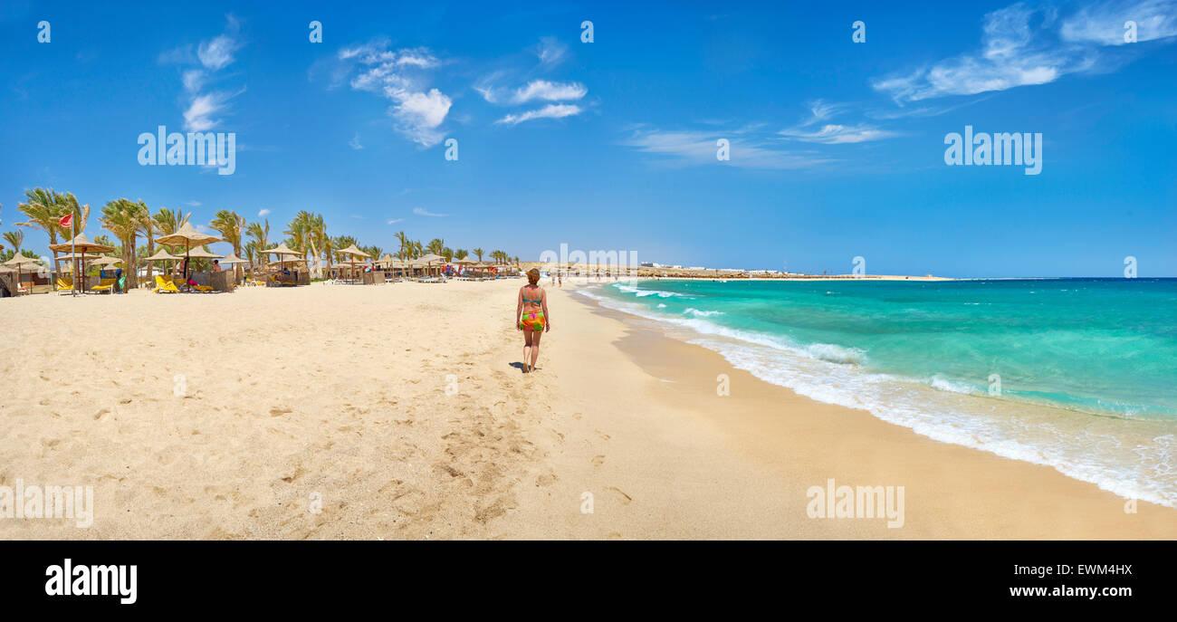 Marsa Alam, Abu Dabbab Bech, Red Sea, Egypt - Stock Image