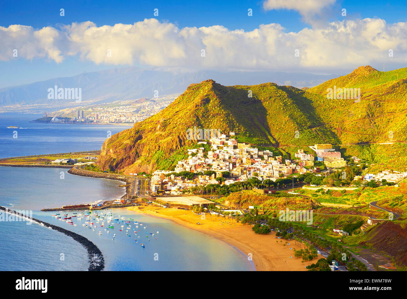 San Andres village, Tenerife, Canary Islands, Spain - Stock Image