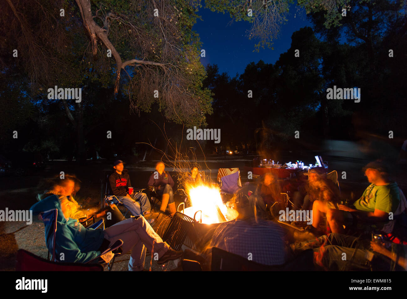 Campfire Story Stock Photos & Campfire Story Stock Images
