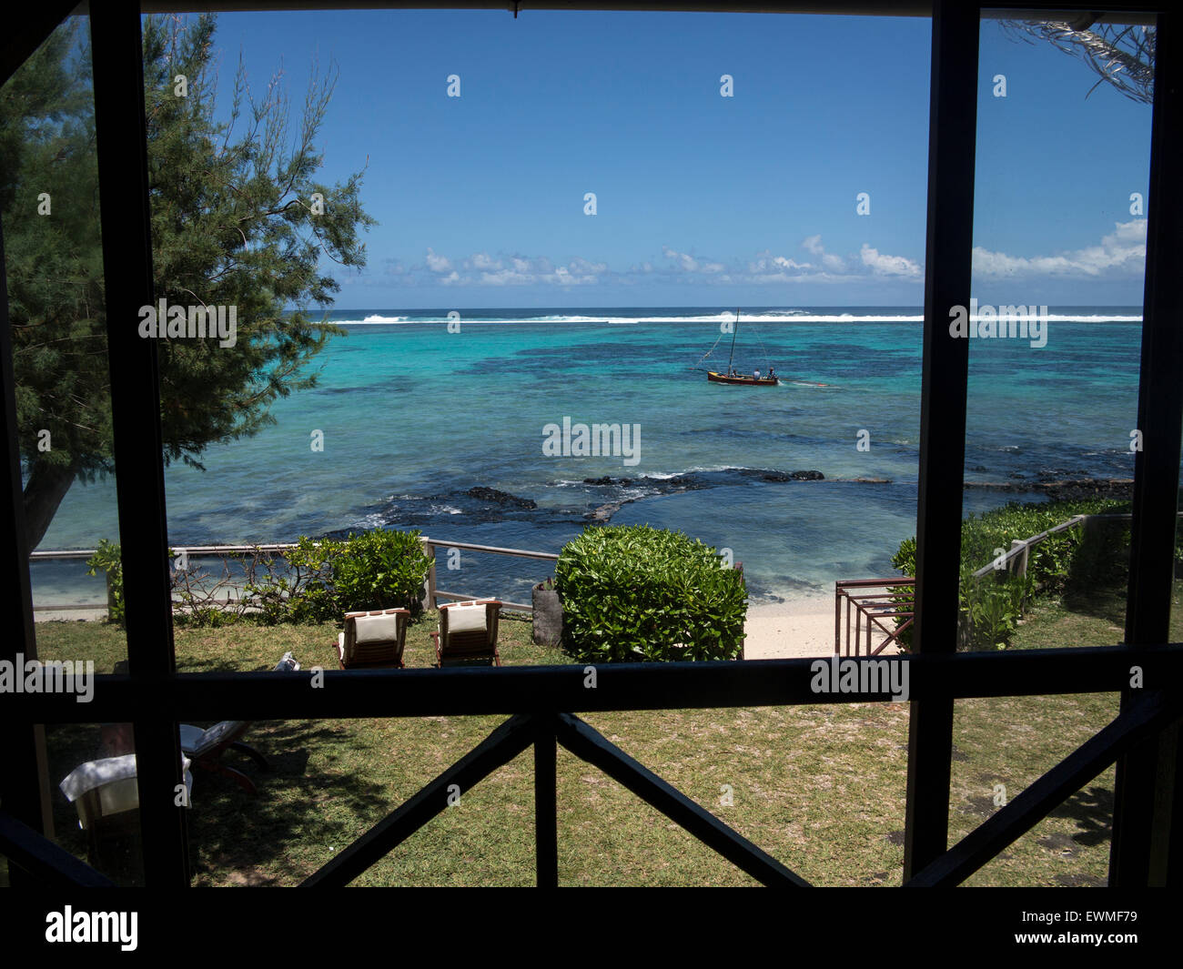 barriere de corail Blue Bay ile Maurice Stock Photo: 84658877 - Alamy
