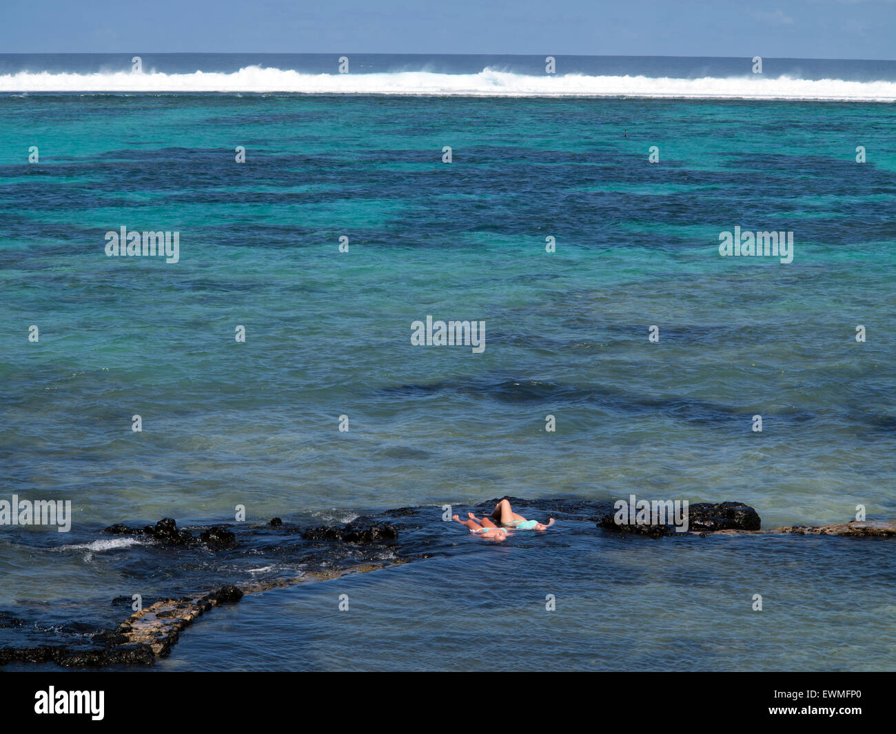 barriere de corail Blue Bay ile Maurice Stock Photo: 84659288 - Alamy