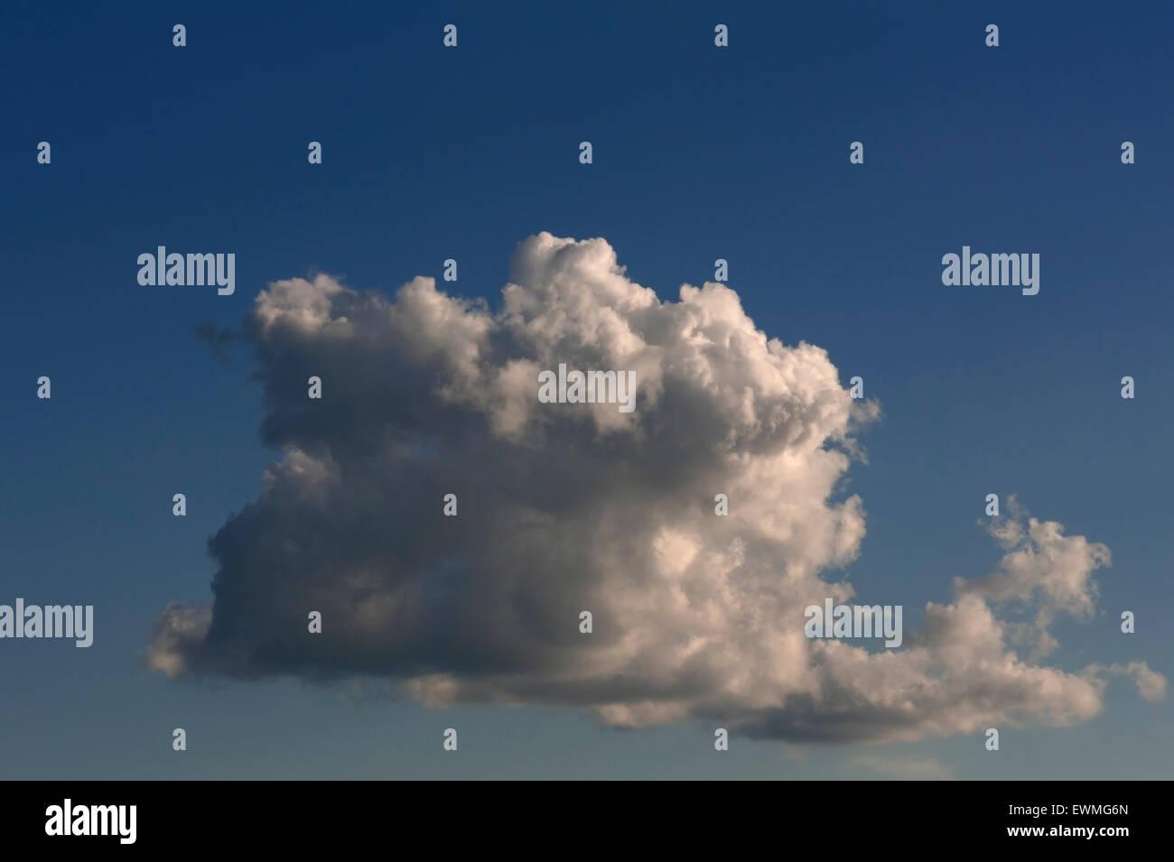 Rain cloud, Nimbostratus, Germany - Stock Image