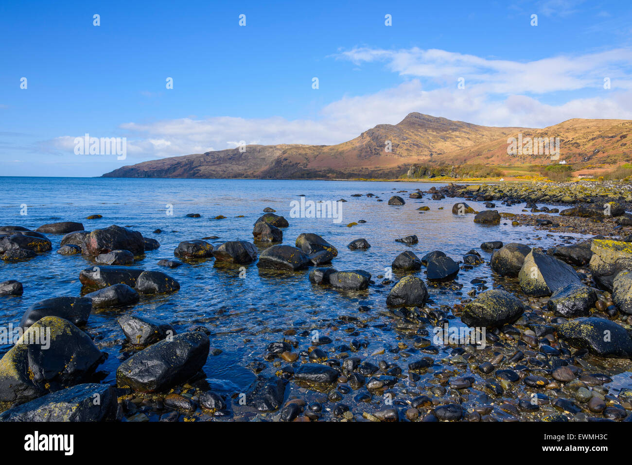 Loch Buie, Isle of Mull, Hebrides, Argyll and Bute, Scotland - Stock Image