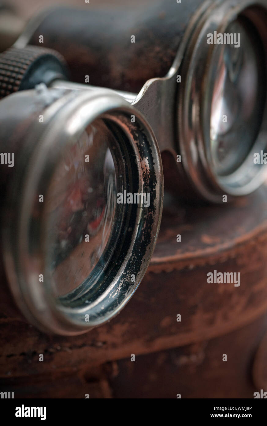 vintage opera glasses - Stock Image