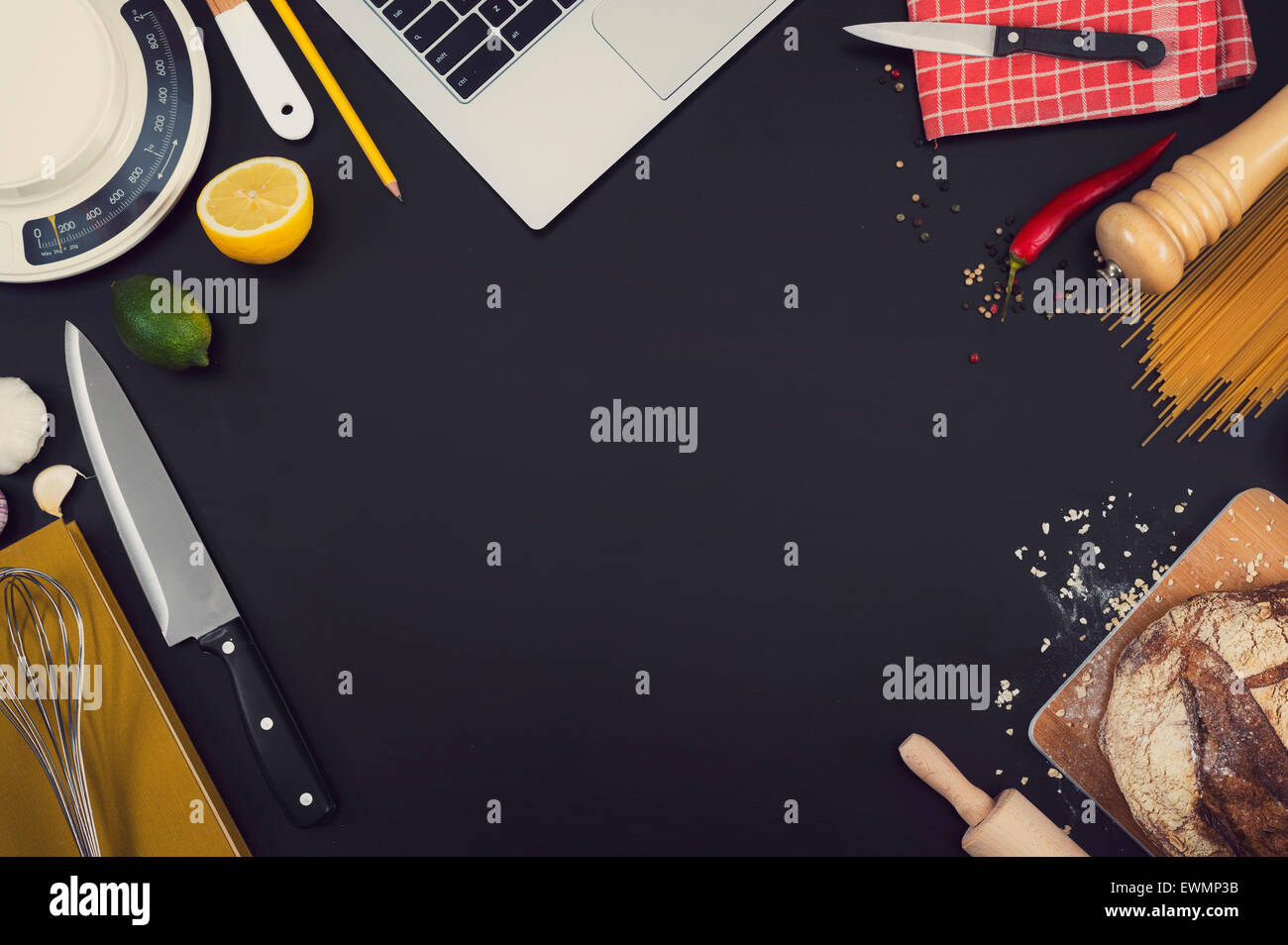 Hero Header image for website background with copy space - Stock Image