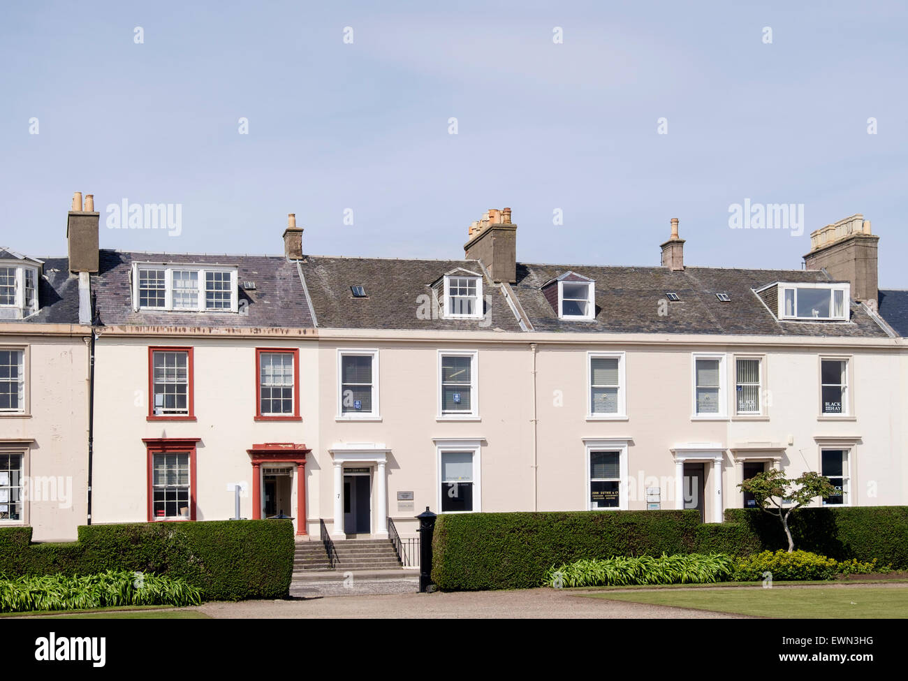 old terraced houses now used for businesses around wellington square rh alamy com house_owner ross house_owner wiki