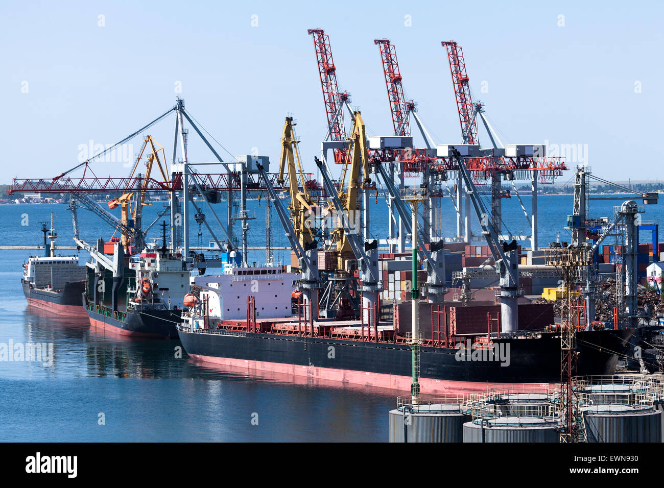 bulk carriers - Stock Image