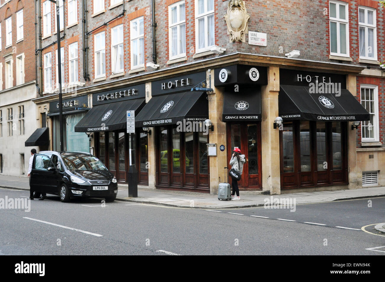 Rochester Hotel  Rochester Rd Westminster London - Stock Image