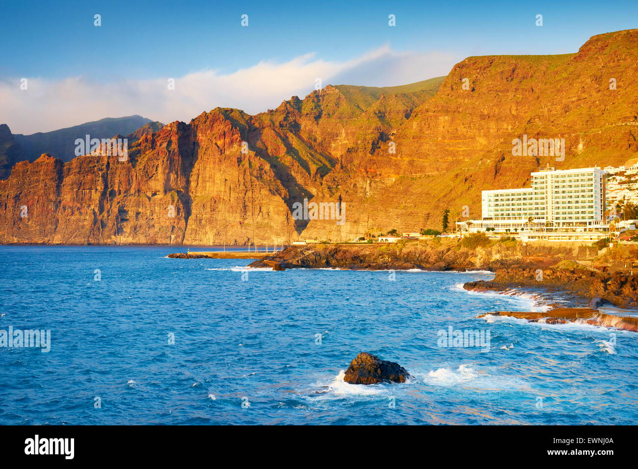 Tenerife, Los Gigantes Cliff, Canary Islands, Spain - Stock Image