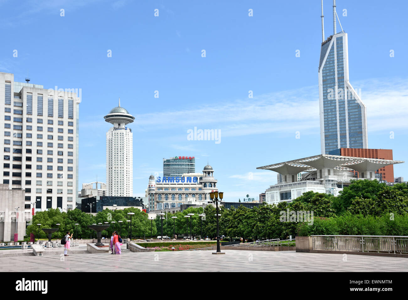 Shanghai Urban Planning Exhibition Renmin Park ( People's Square ) district Huangpu  China Chinese Stock Photo
