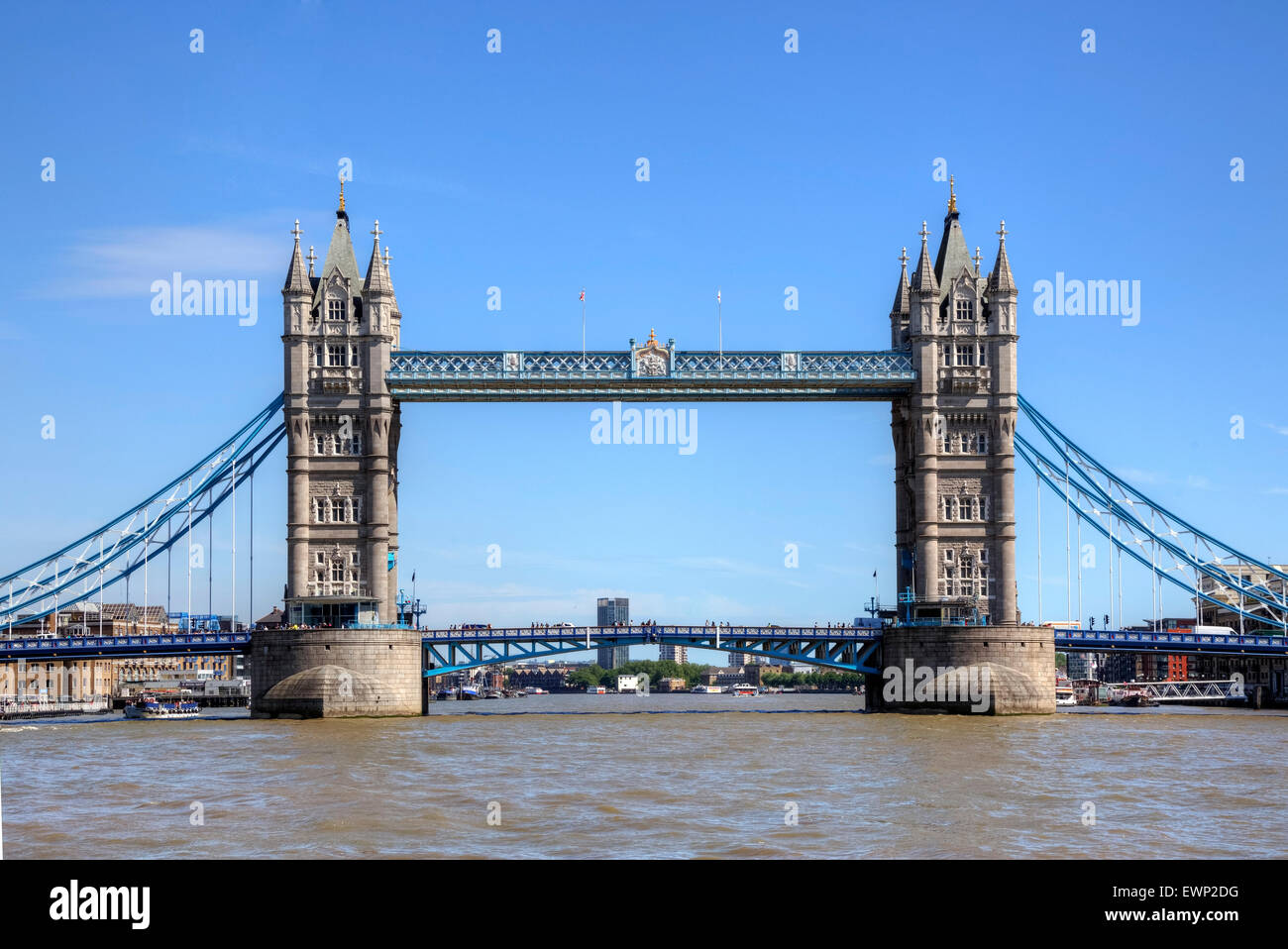 Tower Bridge, London, England, United Kingdom Stock Photo