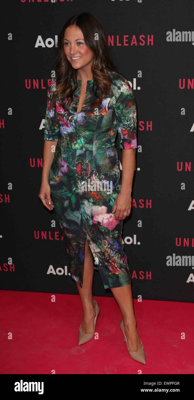 AOL 2015 NewFront presents AOL Unleash at the 4 World Trade Center - Arrivals  Featuring: Maureen Sullivan Where: - Stock Image