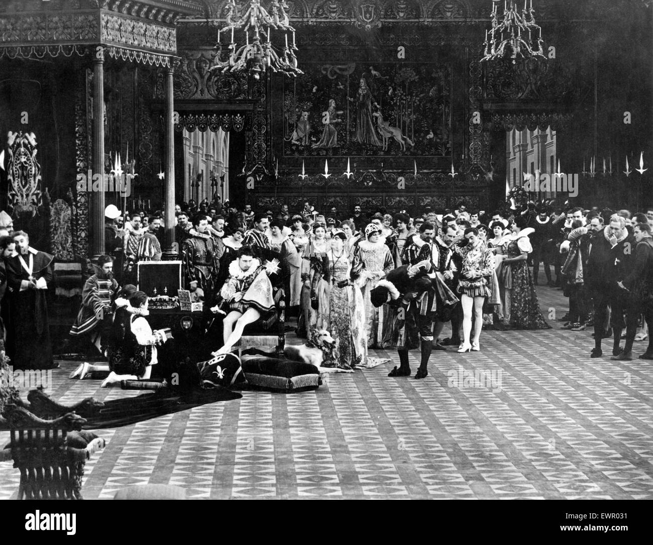 D. W. Griffith  - Intolerance - Stock Image
