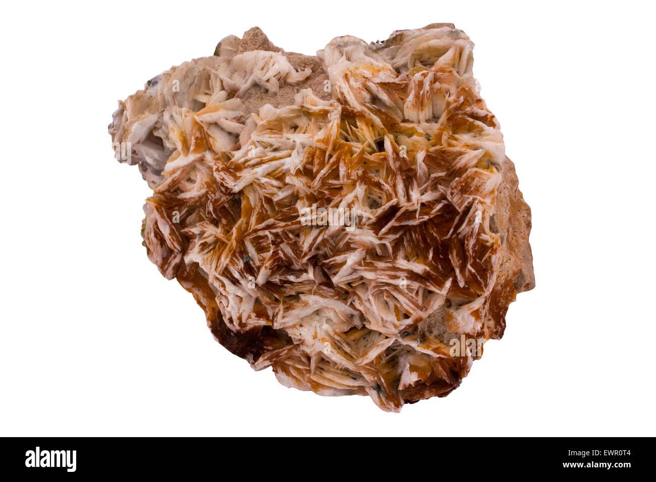 Baryte (barite) - Stock Image