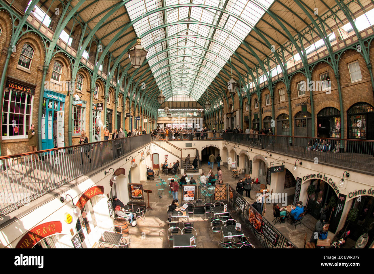 Covent Garden Market in the heart of London Stock Photo: 84715325 ...