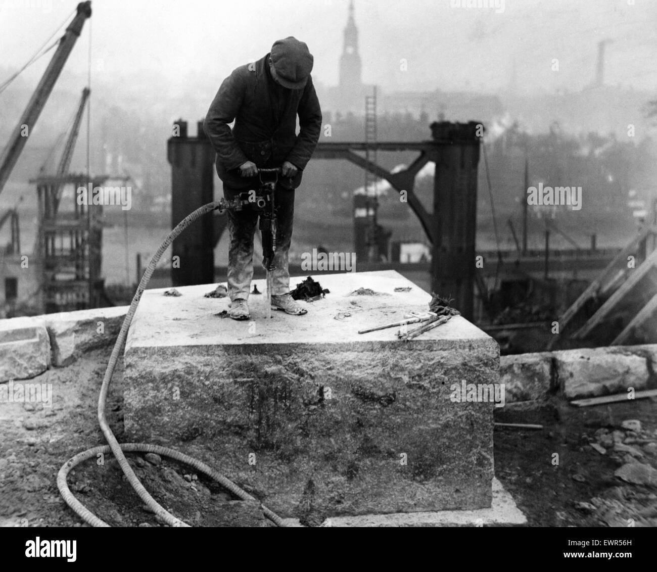 Construction Jobs Black And White Stock Photos Amp Images