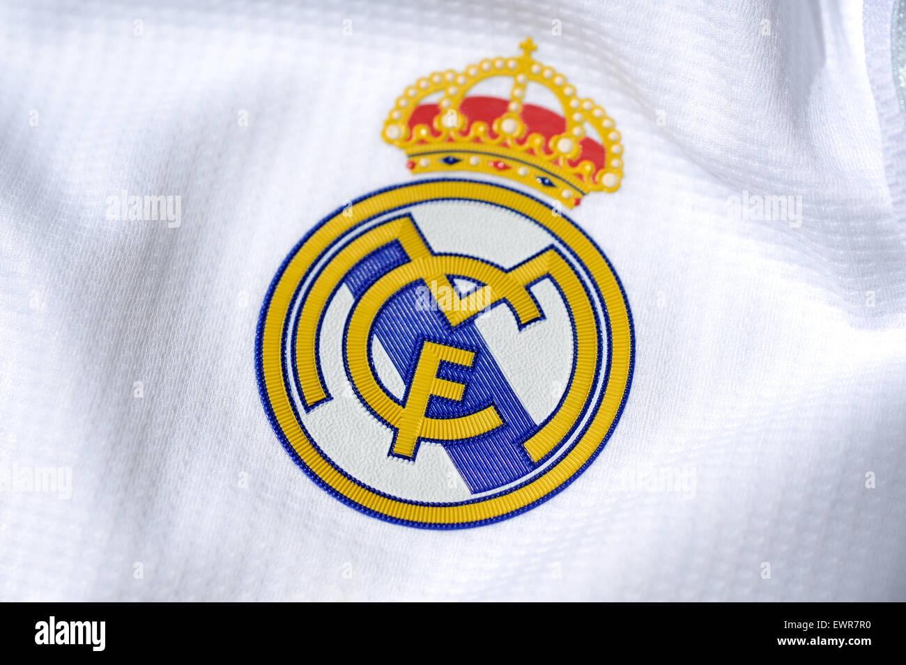78d28b6c2ff Real Madrid Logo Stock Photos   Real Madrid Logo Stock Images - Alamy