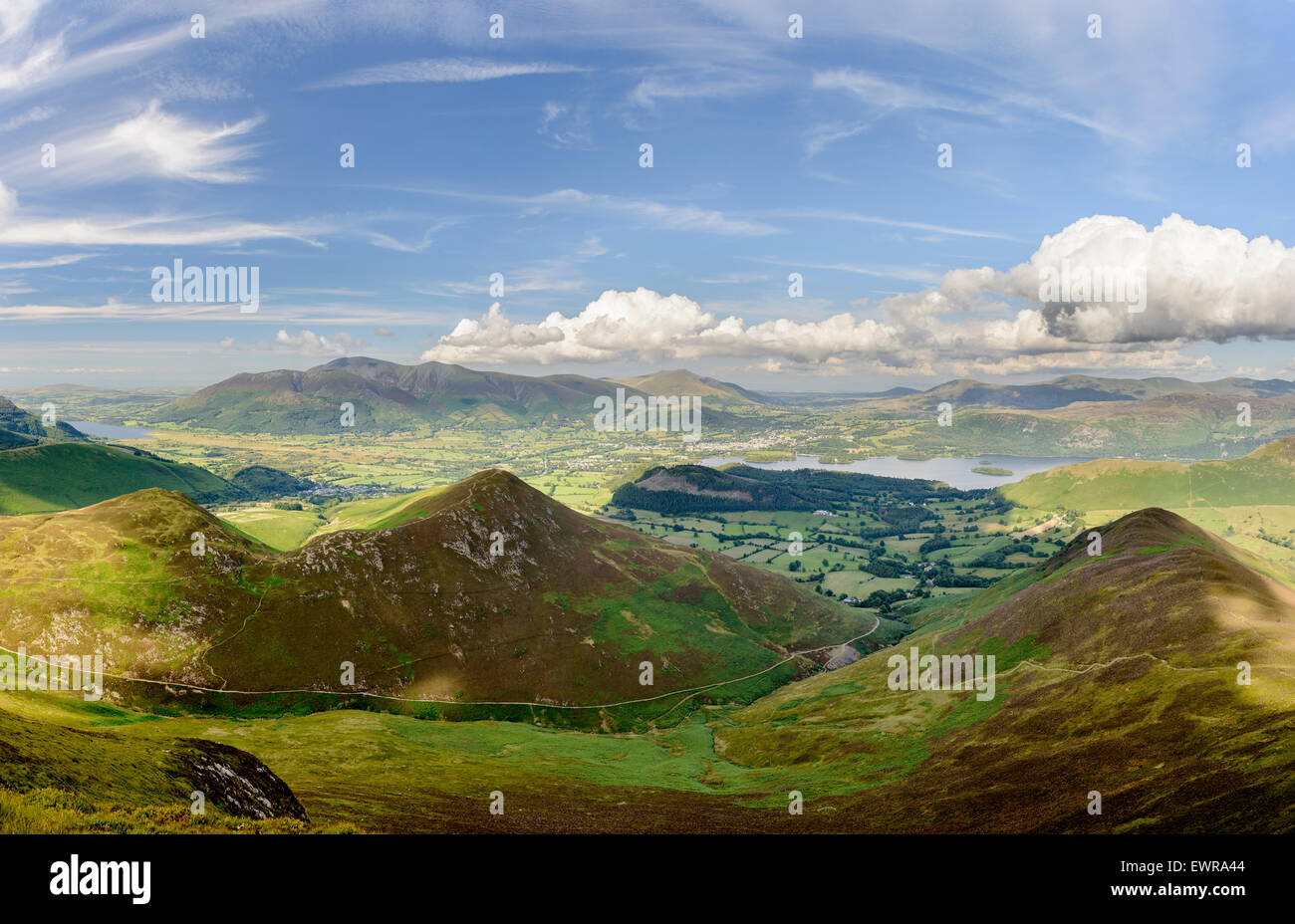 The Northern Fells - Stock Image