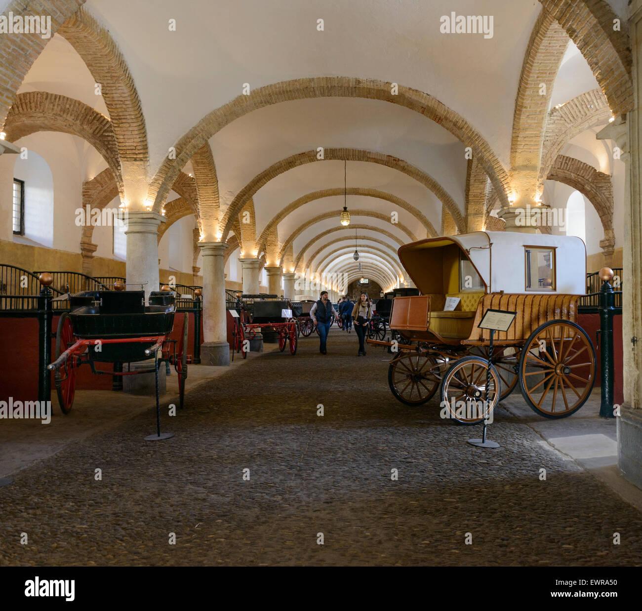 Royal stables, Cordoba, - Stock Image