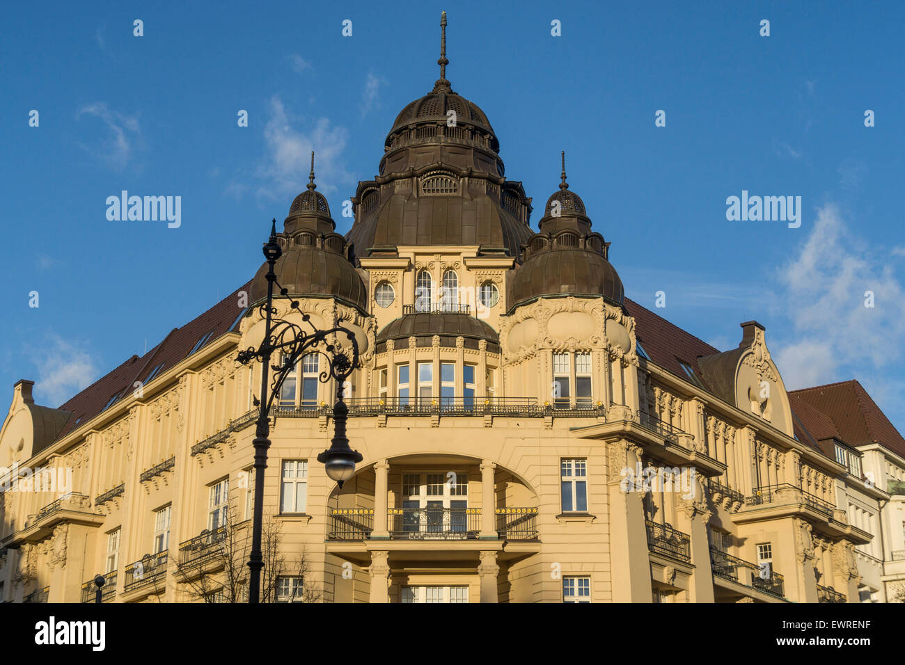 Kurfurstendamm, Luxery Building, Real Estate, City West, Berlin - Stock Image