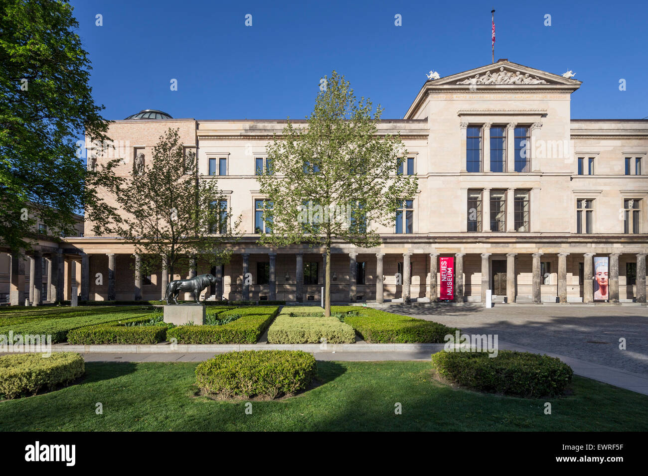 Old Museum, Museum Island, Berlin Mitte, Germany - Stock Image