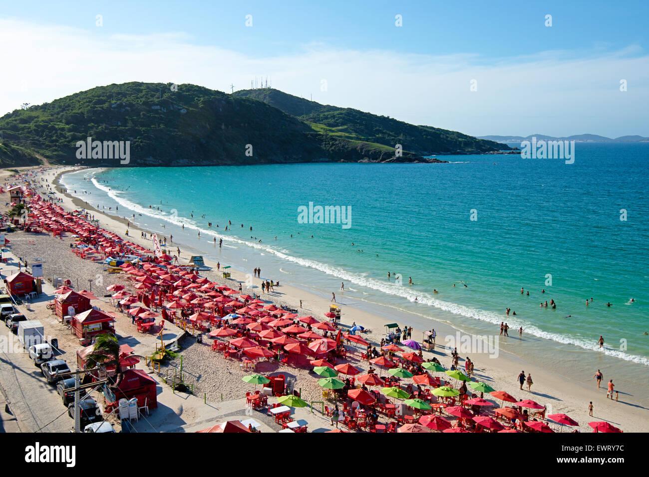 Prainha de Arraial do Cabo, beach Brazil - Stock Image