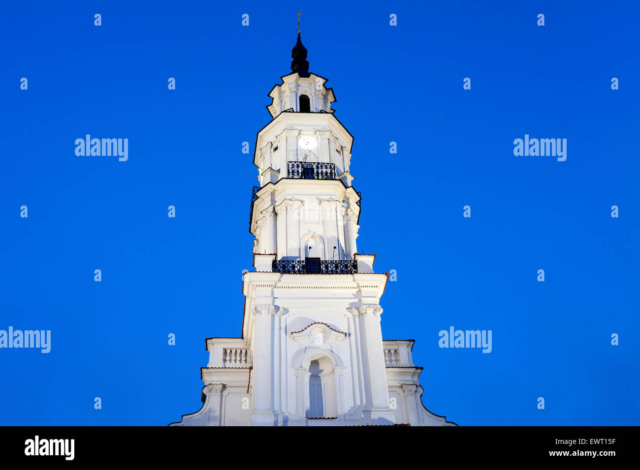 Town Hall, Kaunas, Lithuania. - Stock Image