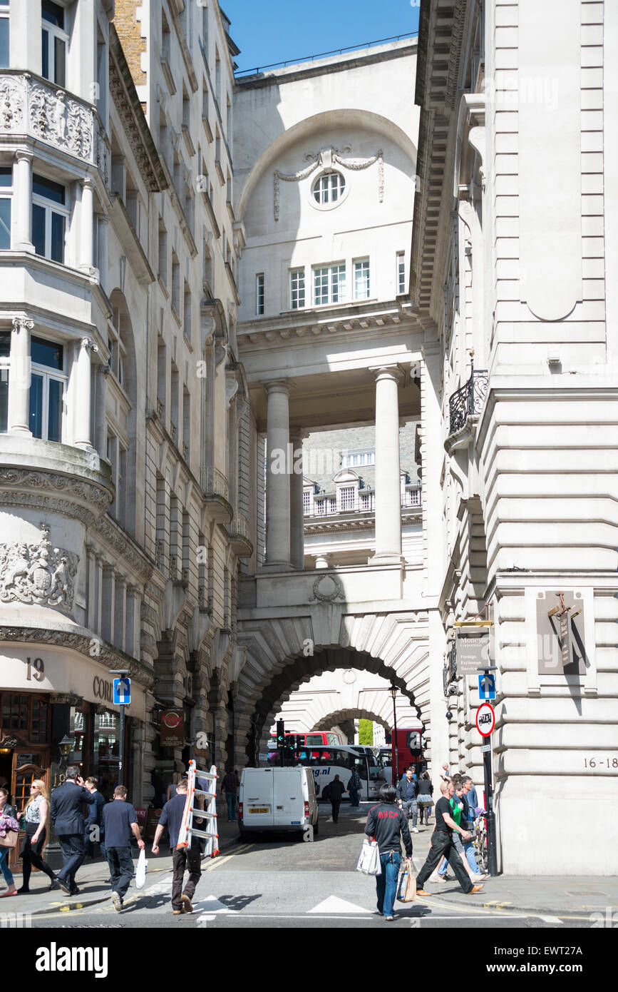 Air Street, Piccadilly, City of Westminster, London, England, United Kingdom - Stock Image