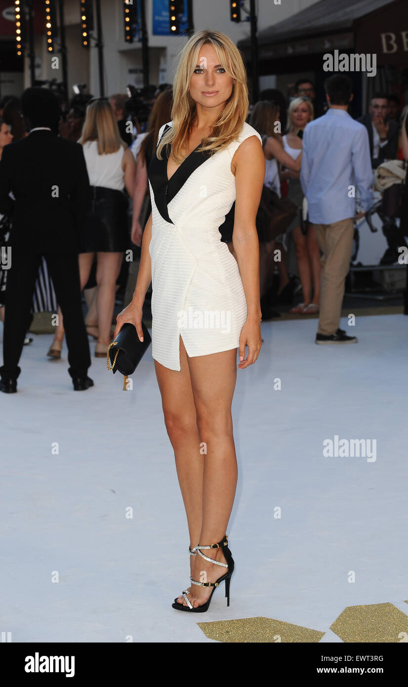 London, UK, UK. 30th June, 2015. Kimberley Garner attends the European Premiere of ''Magic Mike XXL'' - Stock Image