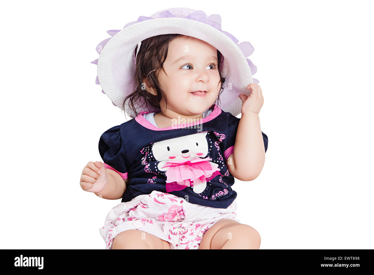 1 indian cute child baby stock photo: 84741252 - alamy