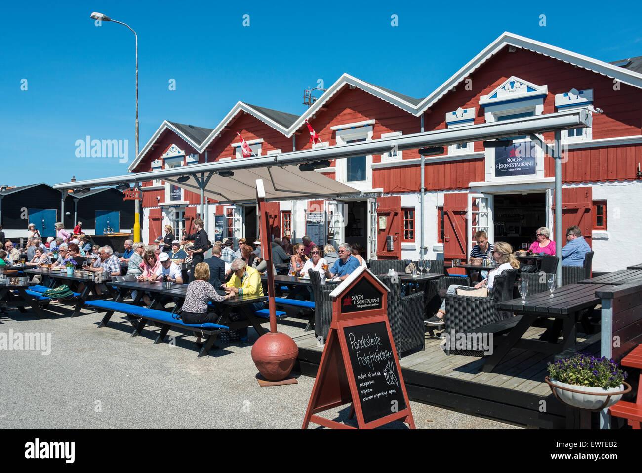 Skagen Fiskerestaurant, Skagen, North Jutland Region, Denmark - Stock Image