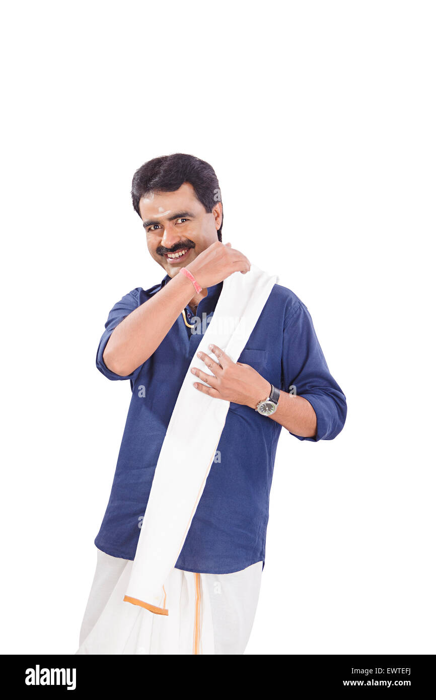 7ef70c8c60 1 South Indian man Style Stock Photo: 84746134 - Alamy