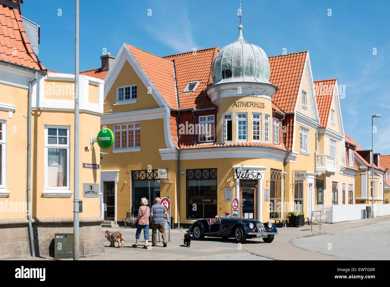 Ankerhus, Havneplads, Skagen, North Jutland Region, Denmark - Stock Image
